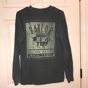 COMFORT COLORS long sleeve baylor shirt
